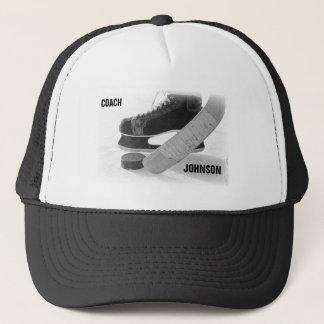 Ice Hockey Coach Thank You Trucker Hat