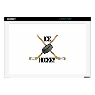 """Ice Hockey Decals For 17"""" Laptops"""