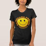 Ice Hockey Freak Smile Shirts
