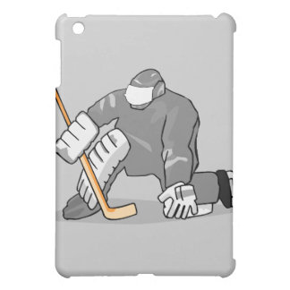 ice hockey goal keeper goalie graphic iPad mini cover