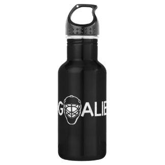 Ice Hockey Goalie 18oz Water Bottle