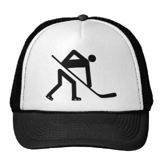 ice hockey icon trucker hat
