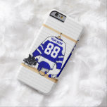 Ice Hockey Jersey Blue | White Barely There iPhone 6 Case