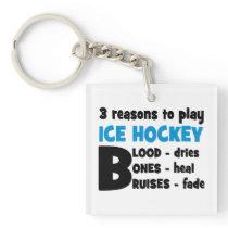 Ice Hockey Keychain