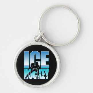 Ice hockey keychain
