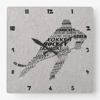 Ice Hockey Languages Text Art