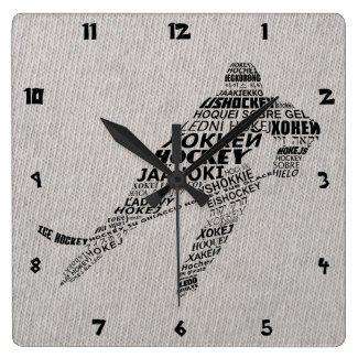 Ice Hockey Languages Text Art