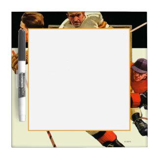 Ice Hockey Match Dry-Erase Board