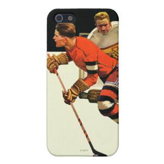 Ice Hockey Match iPhone SE/5/5s Cover