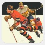 Ice Hockey Match Sticker