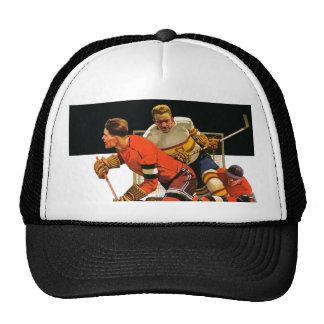 Ice Hockey Match Trucker Hat