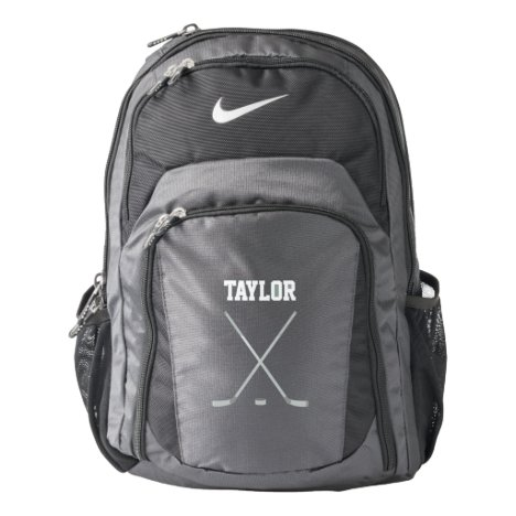 Ice Hockey Name Customized Nike Backpack
