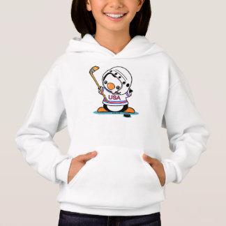 Ice Hockey Penguin Hoodie