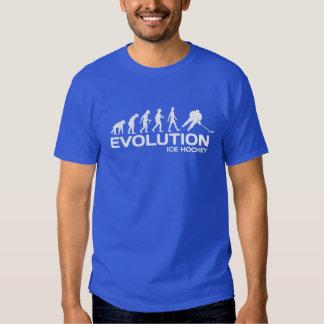 Ice Hockey player ape Evolution funny t-shirt mens