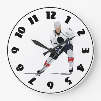 Ice Hockey Player Clock