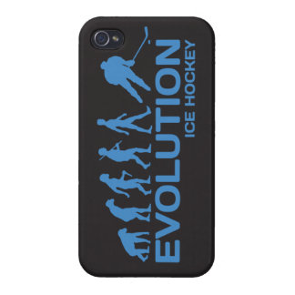 Ice Hockey player Evolution funny iPhone 4 4s case