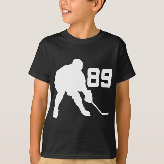 Ice Hockey Player Jersey Number 89 T-Shirt