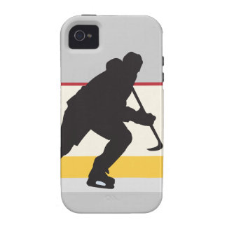 ice hockey player on the move Case-Mate iPhone 4 cover