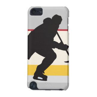 ice hockey player on the move iPod touch 5G cover