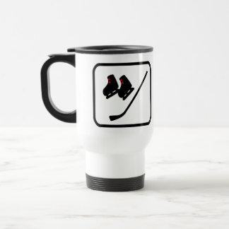 Ice Hockey Player Pro Travel Mug