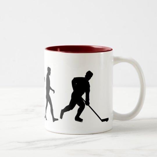 Ice Hockey Players team shirts Two-Tone Coffee Mug