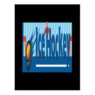 Ice Hockey Post Cards