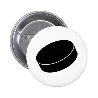 Ice Hockey puck Button