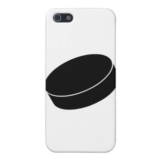 Ice Hockey puck iPhone SE/5/5s Cover
