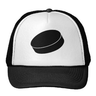 Ice Hockey puck Trucker Hat