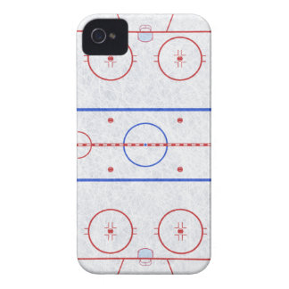 Ice Hockey Rink iPhone 4 Case-Mate Case
