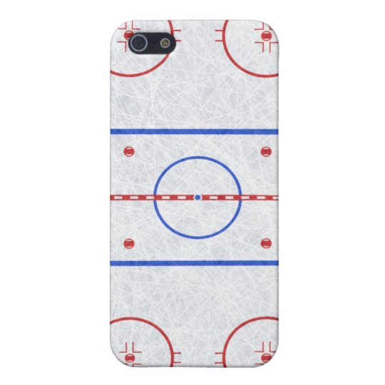 Ice Hockey Rink Cover For iPhone SE/5/5s