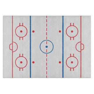 (Ice) Hockey Rink Cutting Board