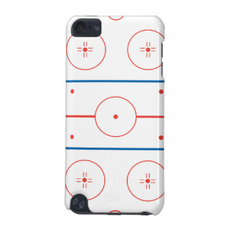 ice hockey rink graphic iPod touch (5th generation) case