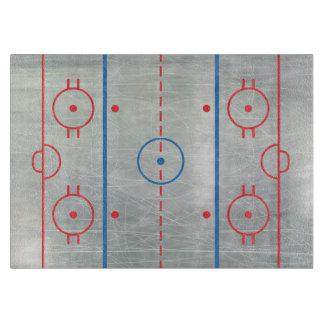 (Ice) Hockey Rink Ice Cutting Board