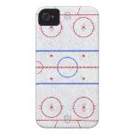Ice Hockey Rink iPhone 4 Case-Mate Case