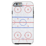 Ice Hockey Rink iPhone 6 Case