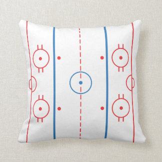 (Ice) Hockey Rink Pillow