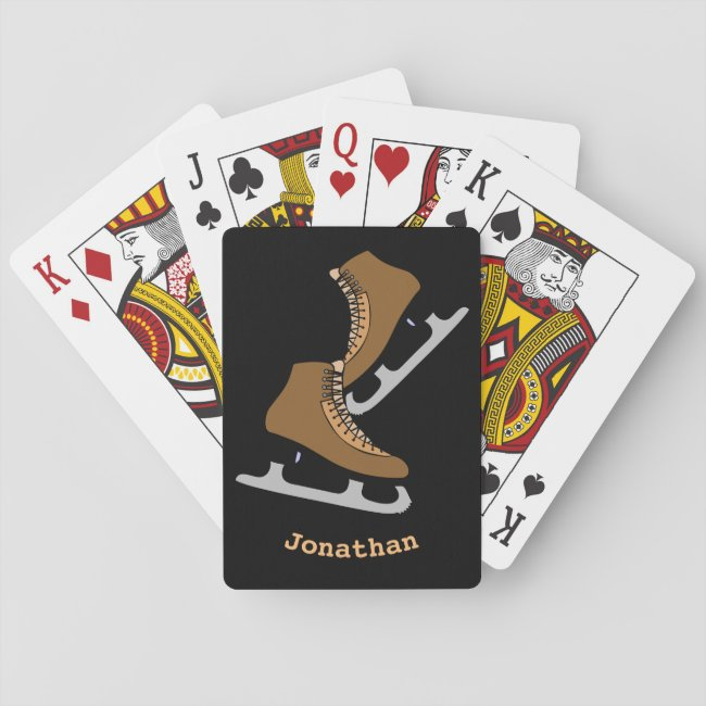 Ice Hockey Skates Sports Playing Cards