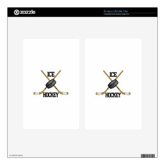 Ice Hockey Skin For Kindle Fire