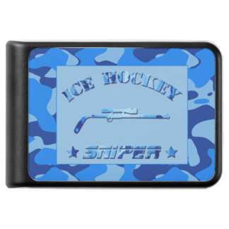 Ice Hockey Sniper Blue Camo Power Pack Power Bank