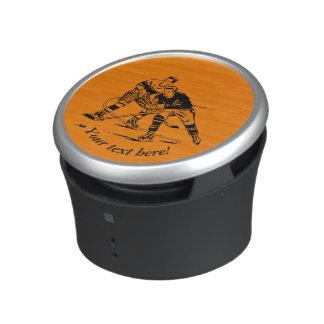 Ice hockey speaker