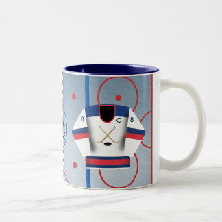 Ice Hockey Team Jersey Mug