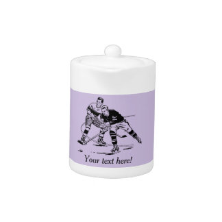 Ice hockey teapot