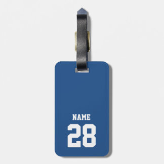 Ice Hockey Theme Luggage Tag