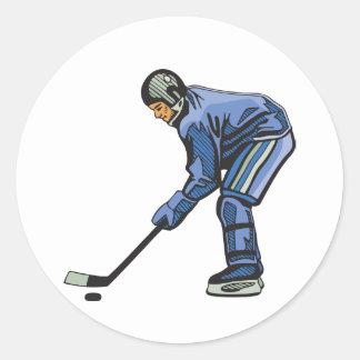Ice Hockey Time Stickers