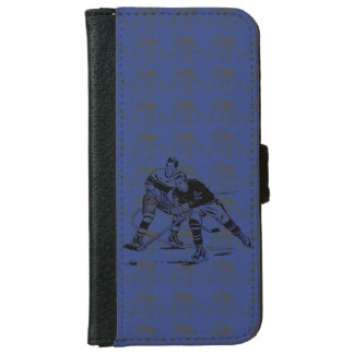 Ice hockey wallet phone case for iPhone 6/6s