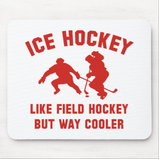 Ice Hockey Way Cooler Mouse Pad