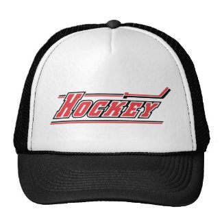 Ice Hockey Winter Sports Gifts Mesh Hat