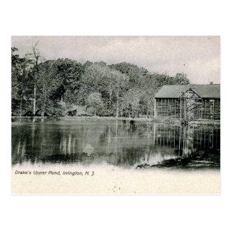 Ice House, Irvington, New Jersey Vintage Postcard