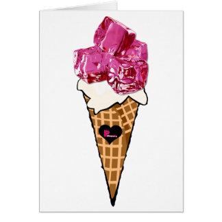 Ice Ice Baby Blank Greeting Card